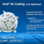 cooler aer BOX Intel