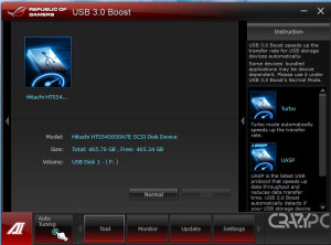 ASUS TURBO BOOST ON