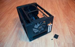 m02 Fractal Design Core 500 rear PCI 1