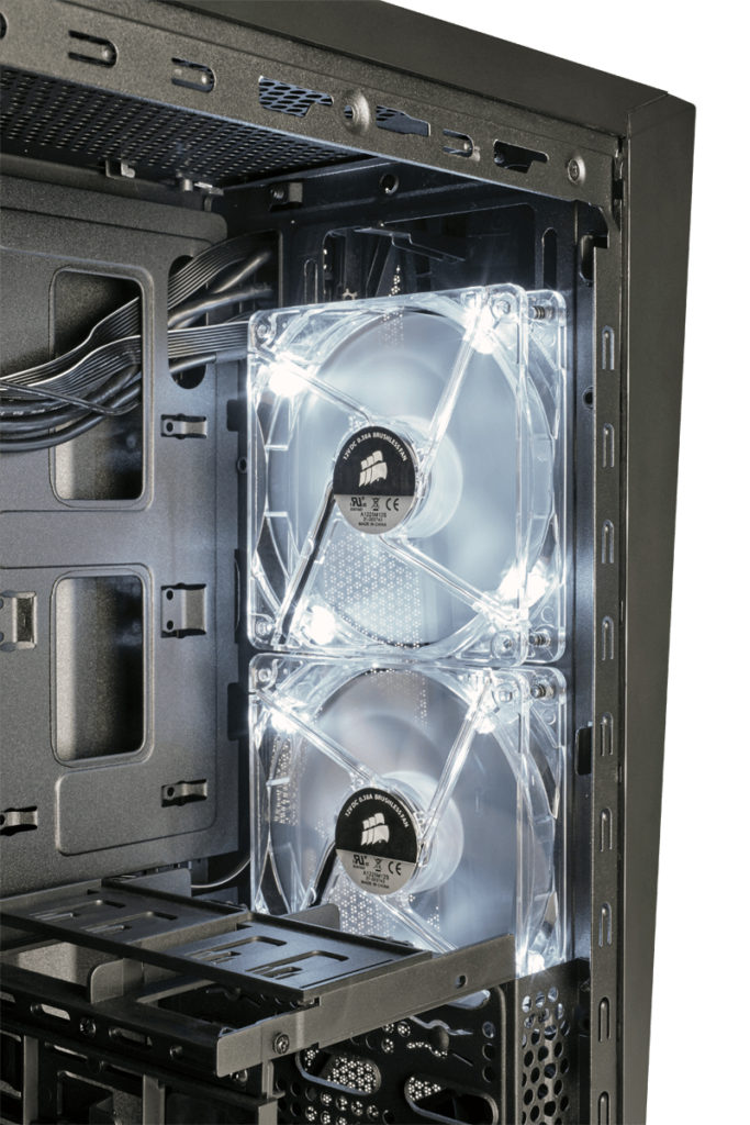off Corsair Carbide Spec Alpha fans front 1