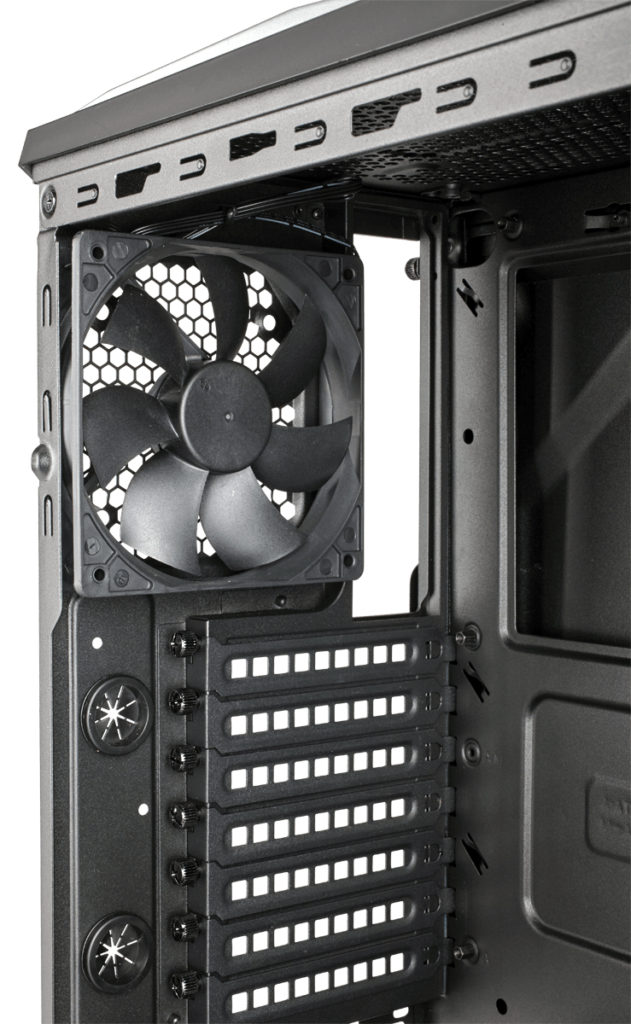 off Corsair Carbide Spec Alpha fans rear 1