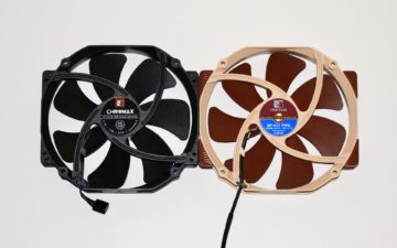 12 noctua chromax fan nf-a15 vs original 1