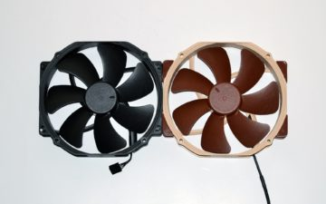 12 noctua chromax fan nf-a15 vs original 2