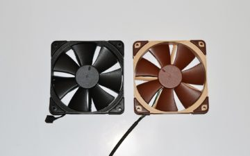 5 noctua chromax fan nf-f12 vs original 1