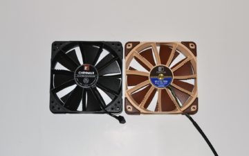 5 noctua chromax fan nf-f12 vs original 2