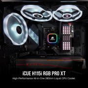 Review H115i RGB PRO XT Liquid CPU Cooler