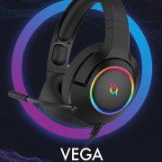 Review Casti Gaming AQIRYS Vega